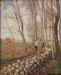 The Lane of Poplars, Moret-sur-Loing