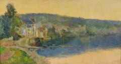 Bord de Seine à la Bouille