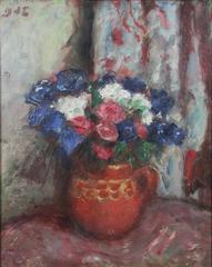 Bouquet dans un Pot Rouge