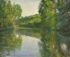 Le Petit Pont Traversant la Rivière