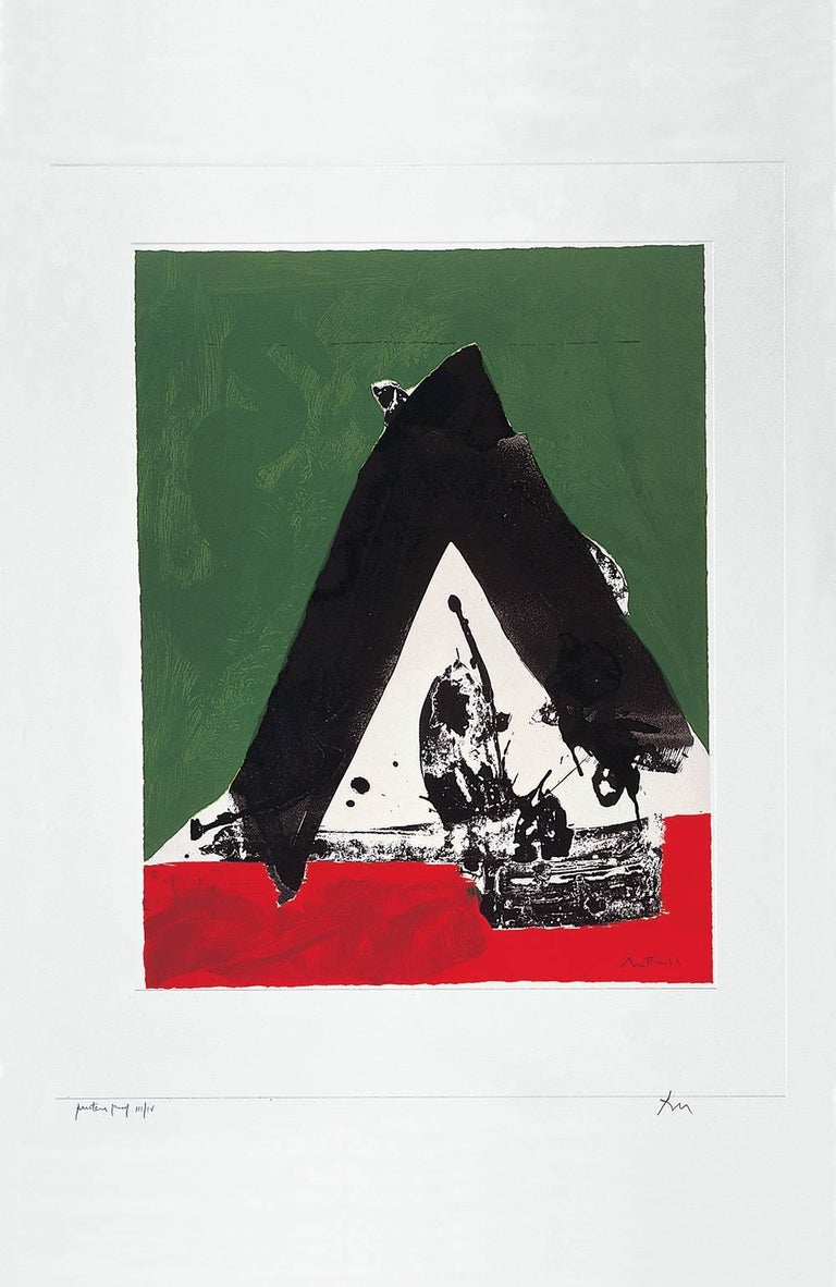 Robert Motherwell Print - The Basque Suite: Untitled