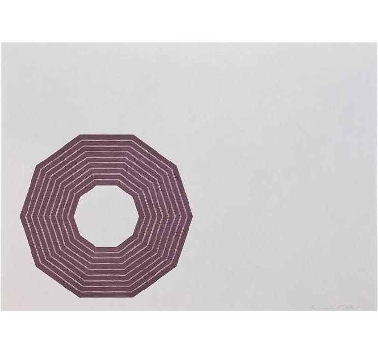 Frank Stella Abstract Print - D.