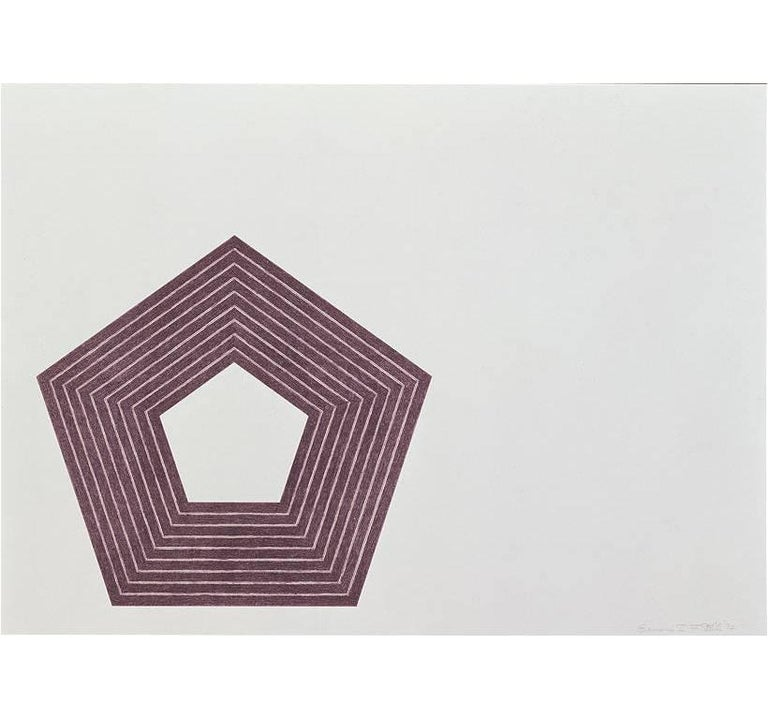 Frank Stella Print - Charlotte Tokayer