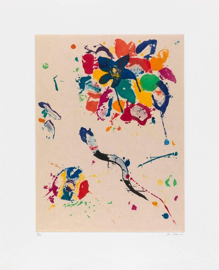 Sam Francis Abstract Print - Untitled