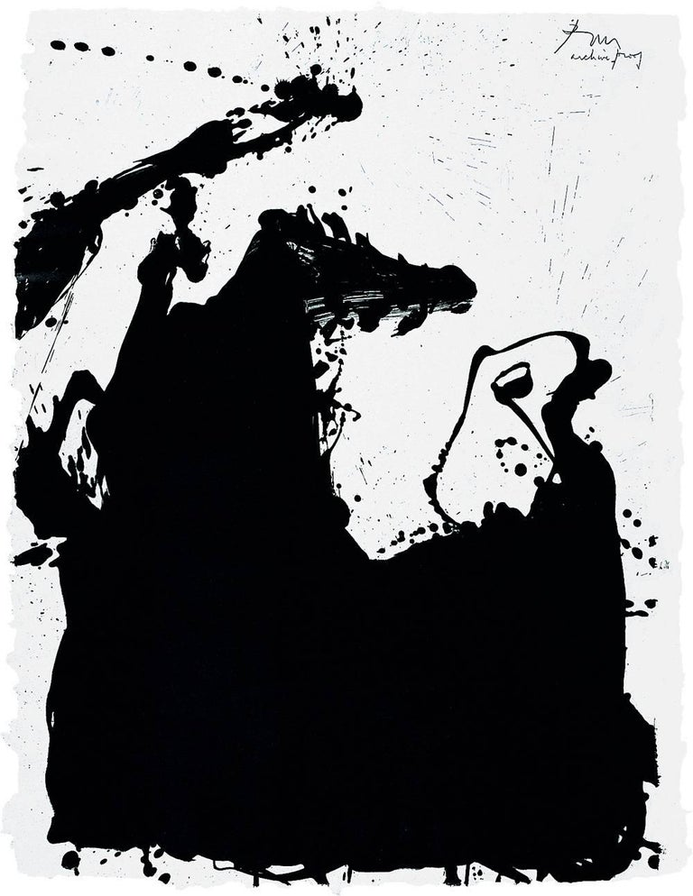 Robert Motherwell - Monster 1