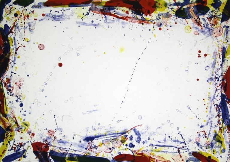 Sam Francis Abstract Print - Damp