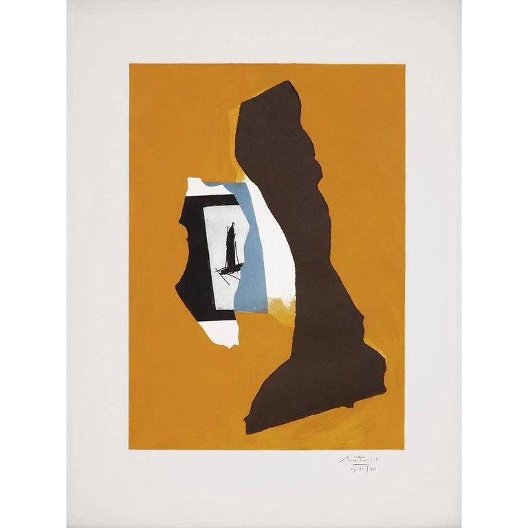 Robert Motherwell Abstract Print - Perpetual Summer