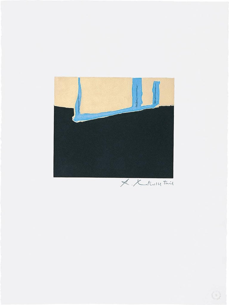 Robert Motherwell Abstract Print - Untitled
