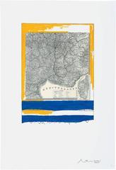 Robert Motherwell - Mediterranean, State I White