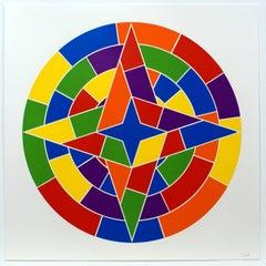 Tondo 2 (4 point star)
