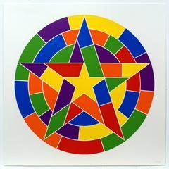 Tondo 3 (5 point star)