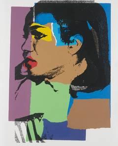 Andy Warhol - Ladies and Gentlemen 129 by Andy Warhol