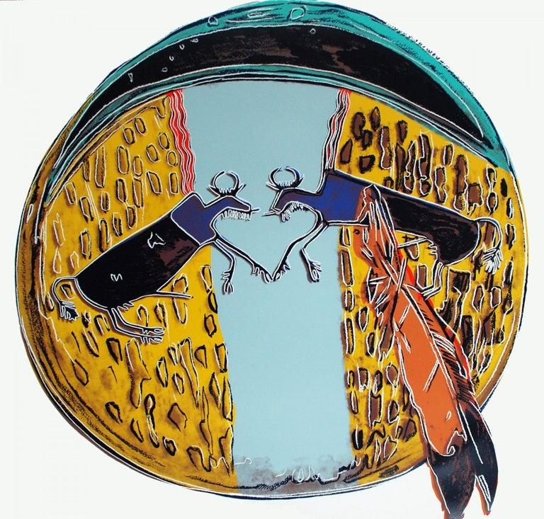 Andy Warhol Print - Plains Indian Shield (FS II.382)