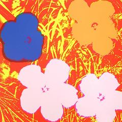 Flowers 69 by Andy Warhol