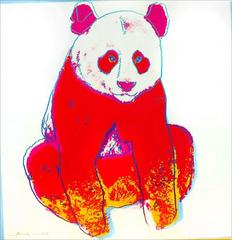 Giant Panda 295 by Andy Warhol