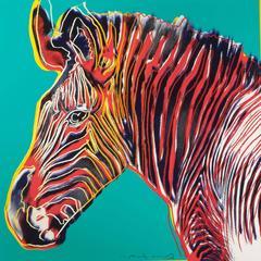 Andy Warhol - Grevy's Zebra 300 by Andy Warhol