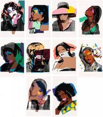 Ladies and Gentlemen, Complete Portfolio by Andy Warhol