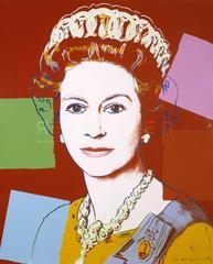 Queen Elizabeth II of the United Kingdom 334 by Andy Warhol