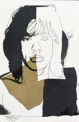Andy Warhol - Mick Jagger 146 by Andy Warhol