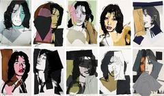 Mick Jagger Complete Portfolio by Andy Warhol