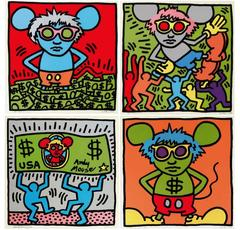 Andy Warhol - Andy Mouse Complete Portfolio