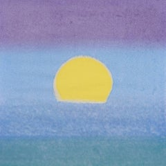 Sunset (Unique) (Yellow/Blue/Green)