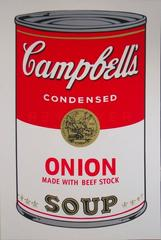 Campbell's Soup I: Onion Made With Beef Stock FS II47