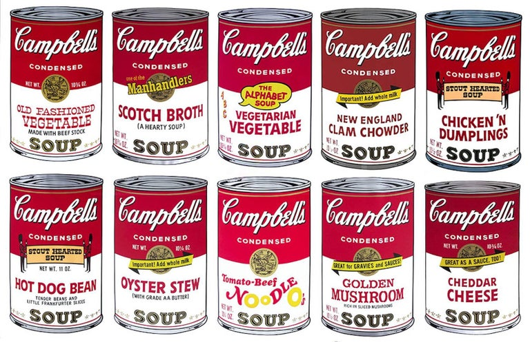 <i>Campbell's Soup II Complete Portfolio</i>, 1969. Offered by Revolver Gallery