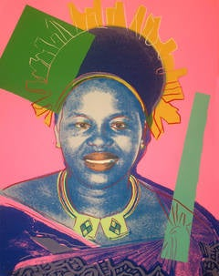 Andy Warhol - Queen Ntombi Twala of Swaziland (FS II.348 – TP)