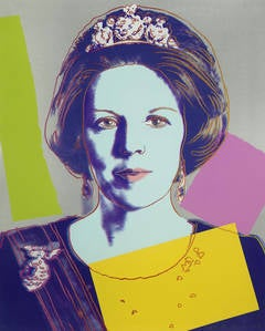 Queen Beatrix Royal Edition 340 by Andy Warhol