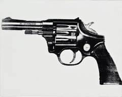 Gun Painting by Andy Warhol
