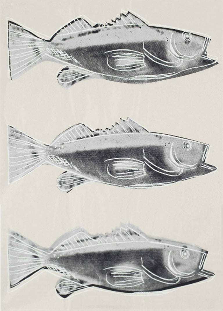 Fish (FS IIIA.39) - Print by Andy Warhol