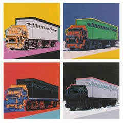 Andy Warhol - Truck, Complete Portfolio by Andy Warhol
