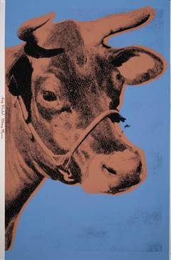 Cow, Blue and Brown (FS II.11A)