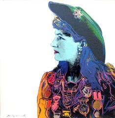 Annie Oakley 378 by Andy Warhol