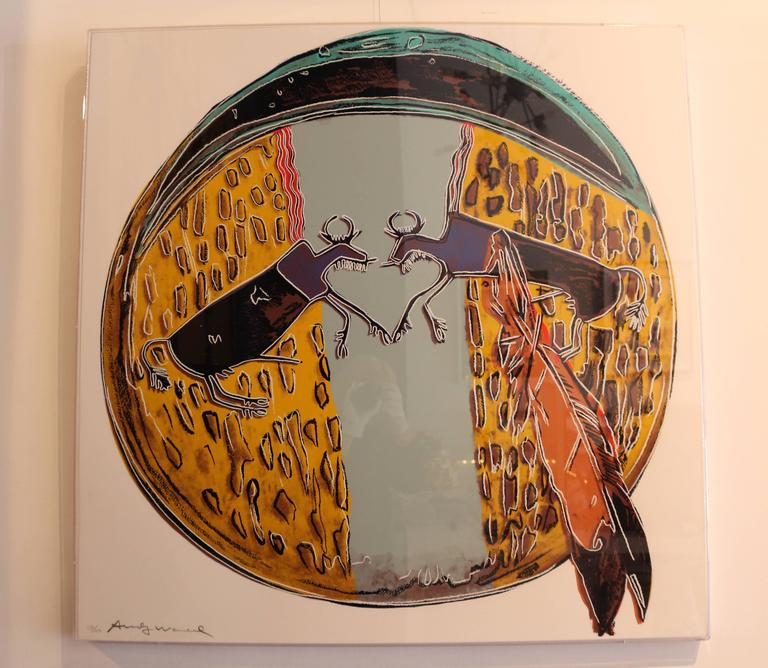 Plains Indian Shield (FS II.382) - Print by Andy Warhol