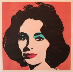 Liz 7 by Andy Warhol