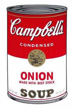 Campbell's Soup I: Onion Made With Beef Stock (FS II.47)