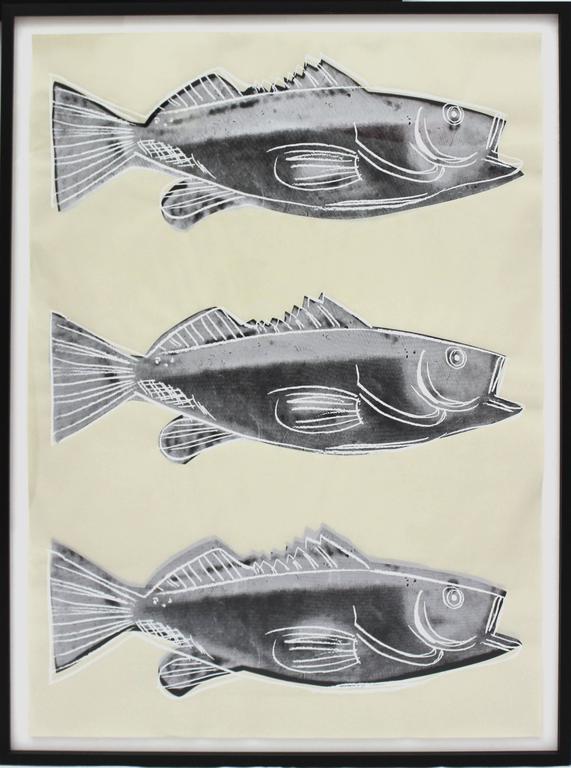 Fish (FS IIIA.39) - Pop Art Print by Andy Warhol
