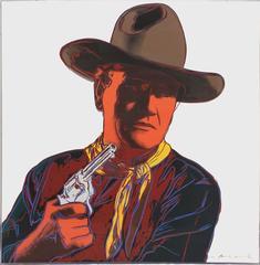 Andy Warhol - John Wayne 377 by Andy Warhol