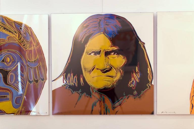 Geronimo (FS II.384)  - Print by Andy Warhol