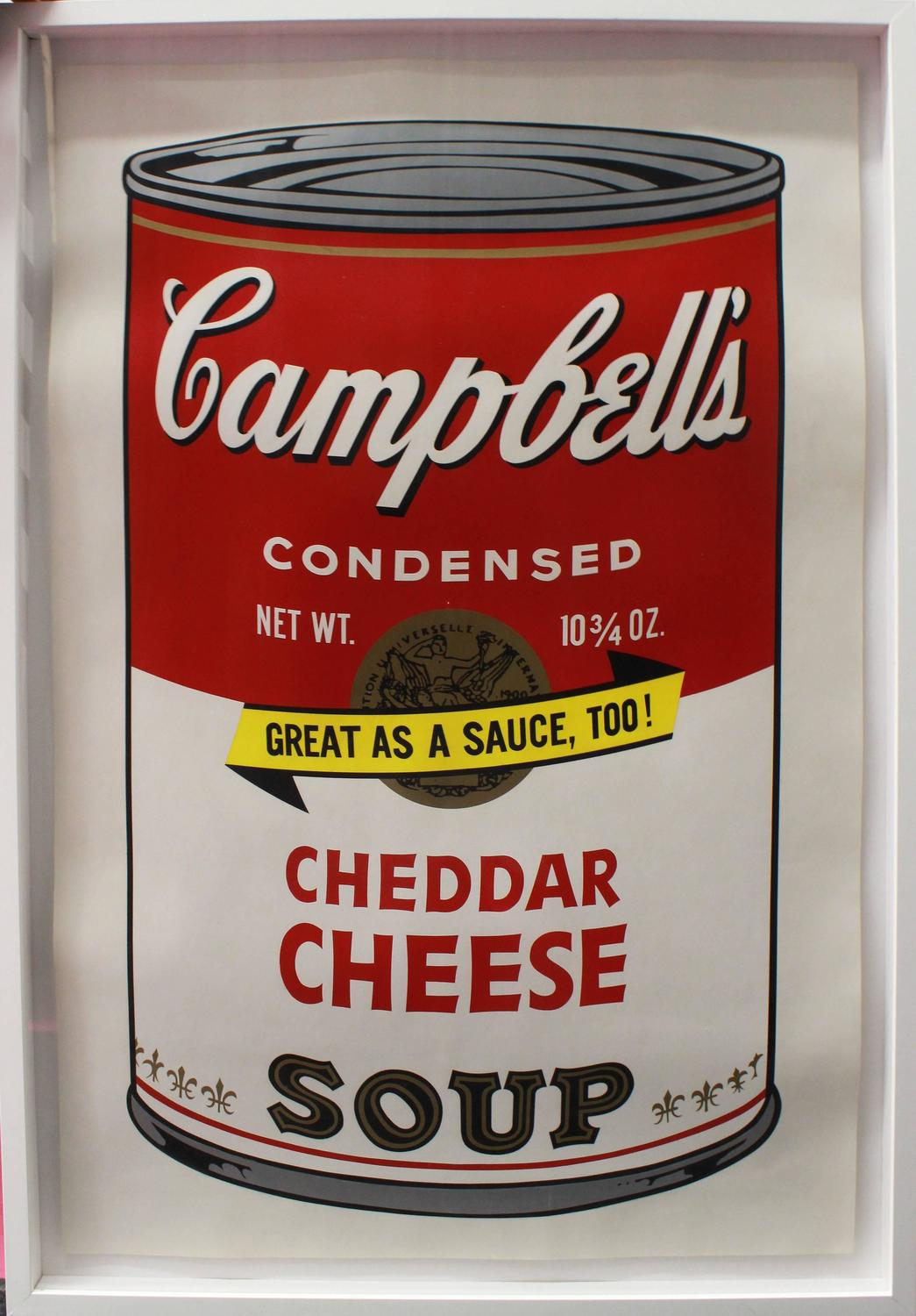 Andy Warhol Campbell S Soup Ii Cheddar Cheese Fs Ii 63