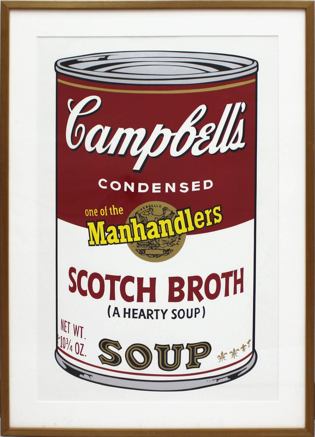 Andy Warhol - Campbell's Soup II.55 (Scotch Broth) For Sale at 1stdibs