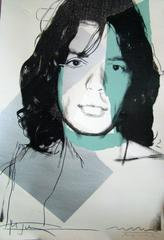 Mick Jagger 138 by Andy Warhol