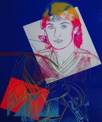 Andy Warhol - Wayne Gretzky 306 by Andy Warhol