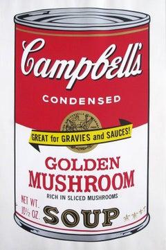 Campbell's Soup II: Golden Mushroom (FS II.62)