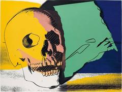 Skull 158 by Andy Warhol