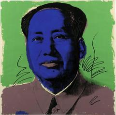 Mao 90 by Andy Warhol