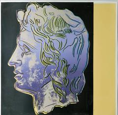 Alexander the Great 291 Trial Print by Andy Warhol