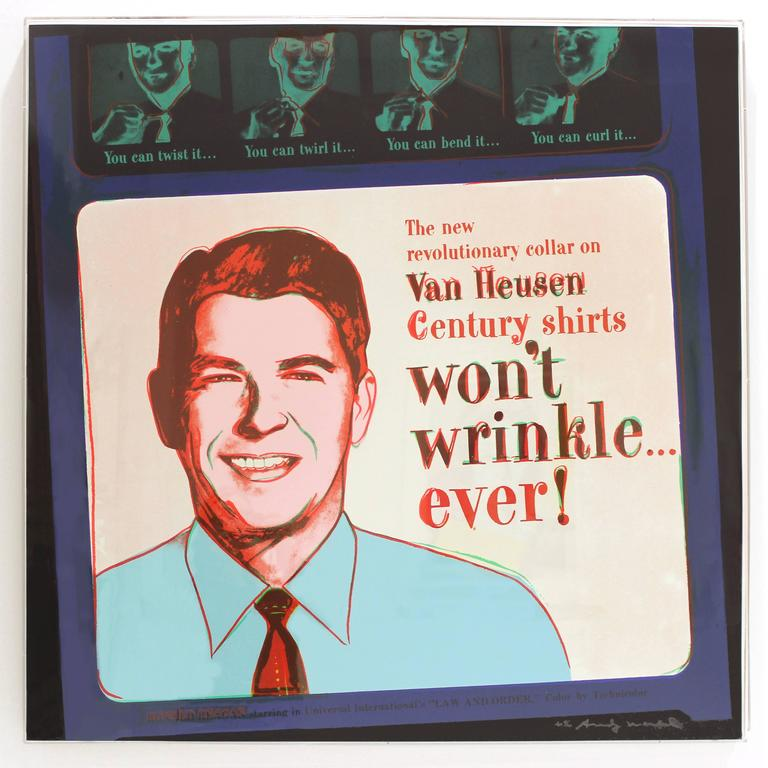 Van Heusen 365 by Andy Warhol For Sale 1